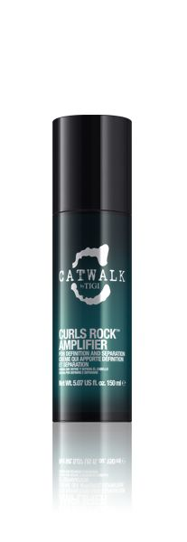 Curls Rock Amplifier Using this products for years, doesn't leave my hair crunchy, I still get volume and it had a great scent