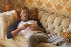 "Alexander Skarsgard stars in ""The Diary of a Teenage Girl"" as Monroe, an emotionally stunted man who finds himself in San Francisco, California and in a relationship with the free-spirited Charlott…"