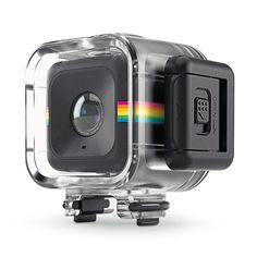 PHEW! Finally a waterproof HD action cube. Hashtag pool ready.