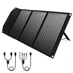 """Amazon has the ROCKPALS RP081 60w Portable Solar Panel with Parallel Cable, Kickstand, USB-C and QC 3.0, Upgraded Foldable Solar Panel Charger for Jackery Power Station marked down from $189.99 to $102.99. That is $87 off retail price! TO GET THIS DEAL: GO HERE to go to the product page and click on """"Add to…"""