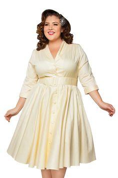 vintage dress patterns plus size - Google Search