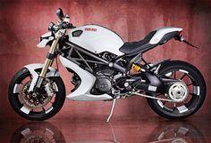 Ducati Monster 1100 EVO Bulgari by Vilner - Custom Motorcycles & Classic Motorcycles - BikeGlam Ducati 1100, Ducati Custom, Custom Bikes, Bobber, Ducati Monster 1100 Evo, Monster 696, Image Monster, Motorcycle Wallpaper, Cool Motorcycles