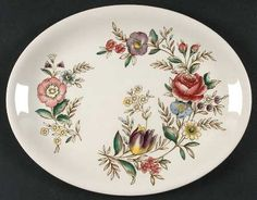"Johnson Brothers Hampshire 12"" Oval Serving Platter, $1,- thrift"