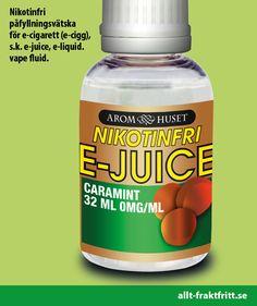 Nikotinfri E-juice Caramint 32ML