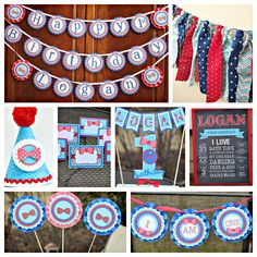 Boy First Birthday / Little Man / Bowtie Party decorations. Fully assembled and customizable. by CharmingTouchParties on Etsy Boys 1st Birthday Party Ideas, Boy First Birthday, Happy Birthday Banners, Birthday Party Decorations, Bow Tie Party, Mustache Party, High Chair Banner, Party In A Box, Chalkboard Art