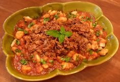 Gnocchi with Pork Ragu | Linda's Italian Table