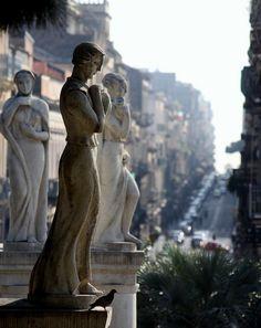 Villa Bellini built in 1883, Catania, Sicily.