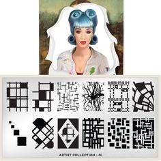 moyou Nail Art design Image Plates-Time traveller collection