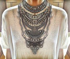 diy: dylanlex stacked neckpiece