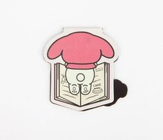 My Melody Magnetic Bookmark: Reader