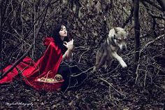 red riding hood photography - Google Search