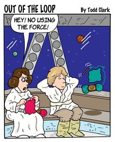 What Luke and Leia did when NOT fighting the Galactic Empire.