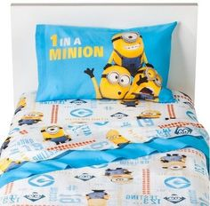 Despicable Me Universal Studios Despicable Me Minions Sheet Set (Twin) Super fun for Despicable Me fans, this Universal Studios Despicable Me Minions Sheet Set.Afflink.