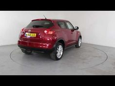NISSAN JUKE 1.6 ACENTA PREMIUM PACK - Air Conditioning - Alloy Wheels - Bluetooth - Spare Key SD - Parking Sensors - Satellite Navigation | In red with ...