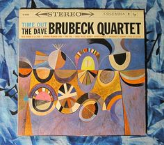 The Dave Brubeck Quartet - Time Out (1959, Jazz Stereo ,Columbia CS 8192 LP Vinyl Record)$42