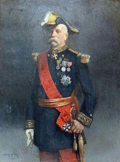 Portrait de Victor Février, grand chancelier de la Légion d'honneur, par Charles Édouard Armand-Dumaresq (1893).
