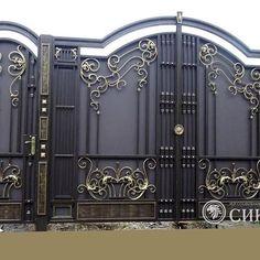Manufacturer Shutter Doors And Gates India Gate Wall Design, Grill Gate Design, House Main Gates Design, Steel Gate Design, Front Gate Design, House Front Design, Modern Front Door, Shutter Doors, Wrought Iron Gates