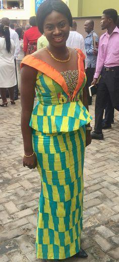 Martha Ankomah in kente kaba and slit, African fashion, Ankara, kitenge, African women dresses, African prints, African men's fashion, Nigerian style, Ghanaian fashion, ntoma, kente styles, African fashion dresses, aso ebi styles, gele, duku, khanga, krobo beads, xhosa fashion, agbada, west african kaftan, African wear, fashion dresses, african wear for men, mtindo