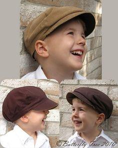 Reversible Newsie Hat - Boys & Girls - Sizes 3mths-Pre-teen!