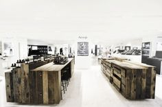 Aesop: A Hong Kong Apothecary Made from Reclaimed Ship's Wood