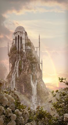 one of the most beautiful castle scenes from deviantart.com :)