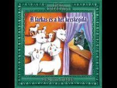 Grimm testvérek: A farkas és a hét kecskegida (hangoskönyv) Grimm