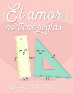 El amor no tiene reglas #love #reglas #mr.wonderful