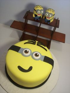 ... TORTAS MINIONS on Pinterest  Minion cakes, Minions and Minion videos