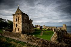 St Andrews Castle By Alan Sinclair