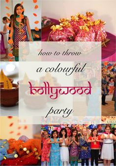 How to throw a #Bollywood (or Indian themed) party - lots of ideas to inspire you.
