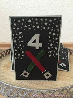 Stampin Up, Star Wars, Birthday Card, Kindergerburtstag, Kids, Sternenkonfetti, Write Marker, Motto Party