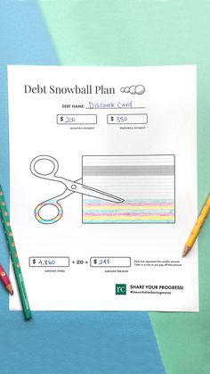 Stay motivated while working on your debt snowball with my FREE goal tracker! Life On A Budget, Debt Snowball, Baby Steps, Debt Free, How To Stay Motivated, Work On Yourself, Budgeting, Journey, Goals