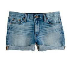 J.CREW Denim short in patina wash added to the Glam Boutique http://www.glambamxo.com/the-glam-boutique/