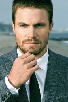 Stephen Amell---he's hot. Period.