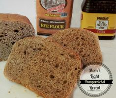 Mom's Light Pumpernickel Bread - Kneaded Creations!