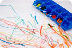Painting with q-tips.. Next project:)