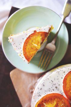 GF orange almond poppy seed cake