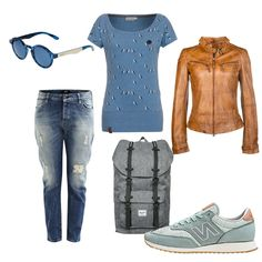 OneOutfitPerDay 2016-05-17 naketano Shirt - #ootd #outfit #fashion #oneoutfitperday #fashionblogger #fashionbloggerde #frauenoutfit #herbstoutfit - Frauen Outfit Frühlings Outfit Outfit des Tages Outfits für unter 200 Schnäppchen Sommer Outfit Herschel Jacke Jeans Lederjacke Maze MR.BOHO Naketano New Balance Object Rucksack Shirt Sneaker Sonnenbrille Tagesrucksack
