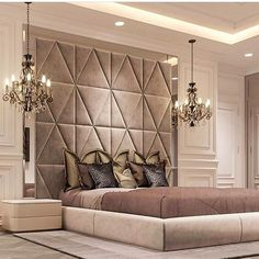 Luxurious bedrooms - 50 Luxury Bedroom Design Ideas that you Definitely want for your Dream Home – Luxurious bedrooms Elegant Interior Design, Interior, Home Bedroom, Luxurious Bedrooms, House Interior, Modern Bedroom, Interior Design, Luxury Bedroom Master, Elegant Interiors