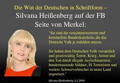 """Silvana Heißenberg an Merkel: """"Sie sind die verachtenswerteste und kriminellste Bundeskanzlerin, die… #DEÄMOKRATIE #Mysteriös #infokrieg"""