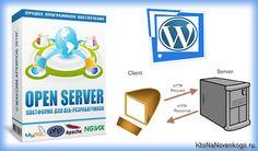 OpenServer — современный локальный сервер и пример его использования для установки WordPress на компьютер  Источник: http://ktonanovenkogo.ru/vokrug-da-okolo/openserver-lokalnyj-server-ustanovki-wordpress-na-kompyutere.html#ixzz32cWjp45u
