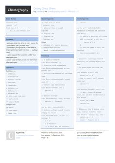 Golang Cheat Sheet