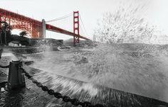 GOLDEN GATE SPLASH San Francisco, USA, 2013 • Lightroom Photo Gallery by Pepe Soho • Mexican Photographer