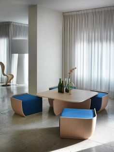Coffee table design above is an extremely exceptional as well as modern styles. Hope you understand or ideas for your modern-day coffee table. Space Saving Table, Space Saving Furniture, Home Decor Furniture, Living Room Furniture, Modern Furniture, Living Room Decor, Furniture Design, Table Furniture, Furniture Ideas