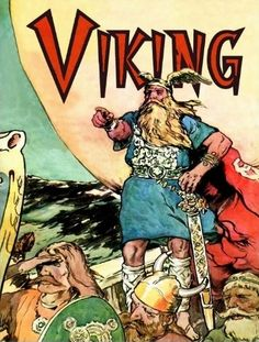 Shop Viking Norse Gods Thor Viking Ship Postcard created by Funkart. Swedish Vikings, Norwegian Vikings, Thor Norse, Norse Words, Celtic Images, Viking Baby, Spiritual Warrior, Scandinavian Countries, Old Norse