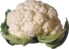 La coliflor es una verdura estupendo que puede inhibir el crecimiento tumoral.este vegetal también es súper generosamente dotado de poderes para prevenir el cáncer.    De hecho, es una de las comidas curativas más poderosas que usted puede comprar.