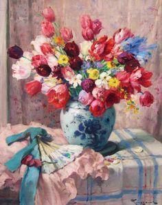 Tulips  Fernand Toussaint