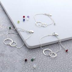 Infinity Birthstone Bracelet - bracelets & bangles