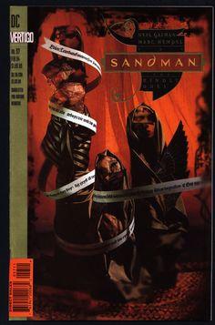 DC Comics Vertigo Press SANDMAN #57 Neil GAIMAN American Freak Supernatural Magic Gothic Horror Anti-Super Hero Goth