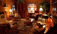Lovely warm family room